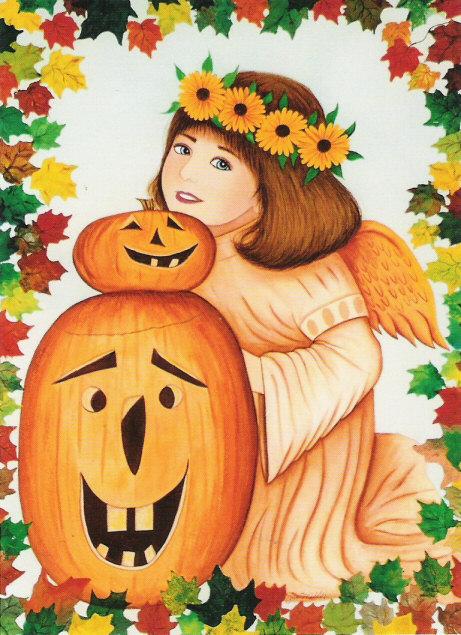 Autumn Angel Print
