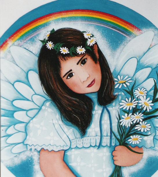 Rainbow Angel Print