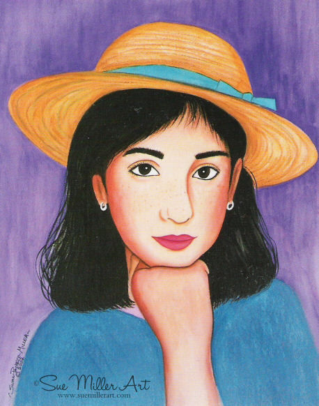 Miss Gabby Print