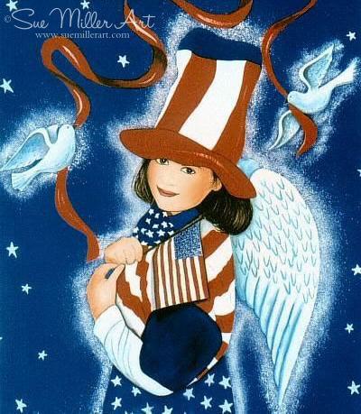 Miss Liberty Print