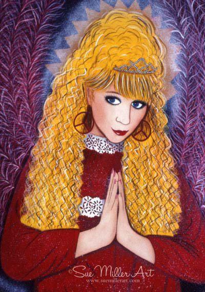 Golden Prayers Print