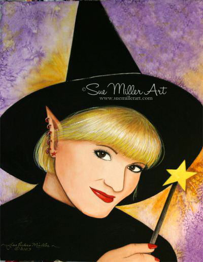 Halloween Elf Print
