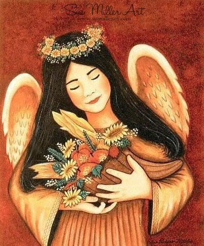 Harvest Angel Print