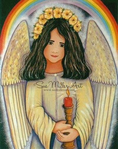 Healing Angel Print