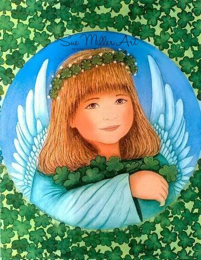 Irish Angel Print
