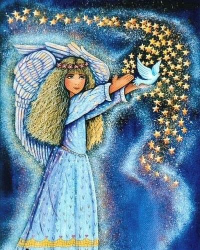 Wishing Angel Print