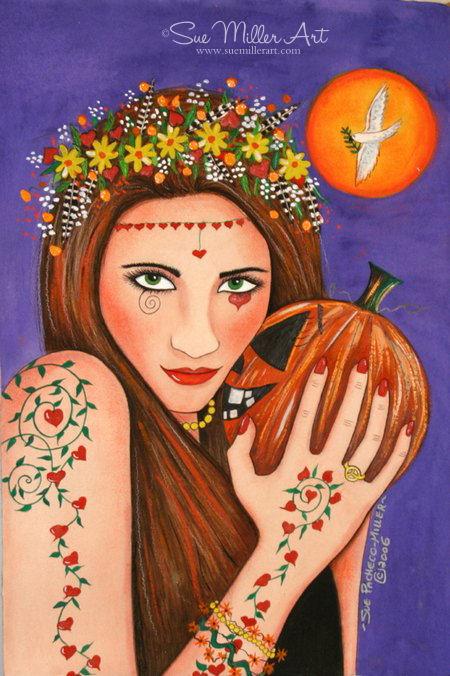 Pumpkin Sprite Print