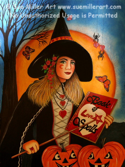 The Book of Love Spells Print