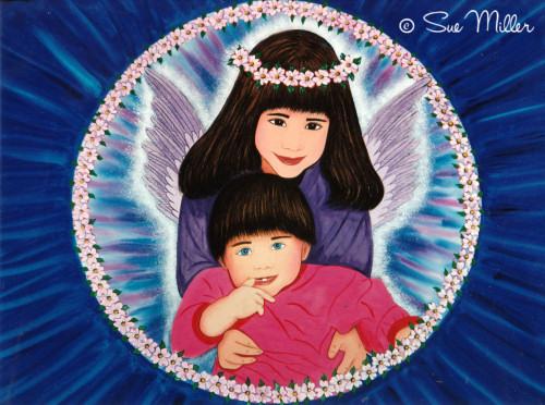 Guardian Angel & Child