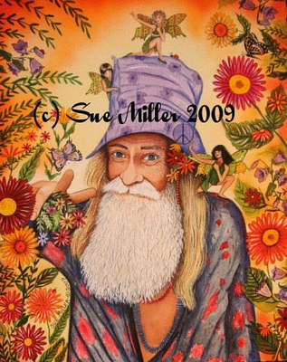 Grandpa Woodstock Print