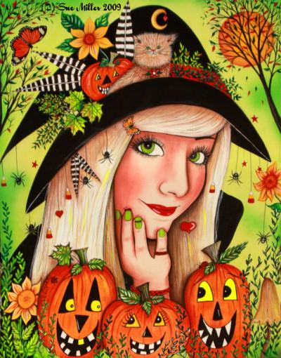 Halloween Wonders Print