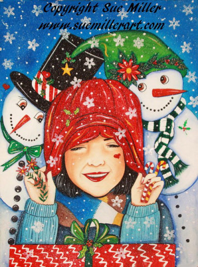 Let it Snow, Let it Snow ORIGINAL PAINTING