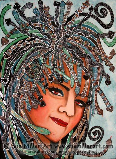 Medusa Original Painting