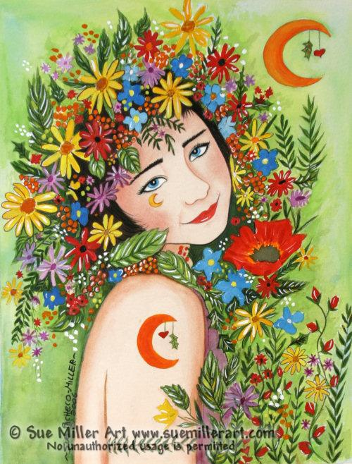 Queen of Fairies Print