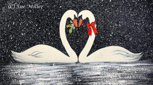 Swan Kissing