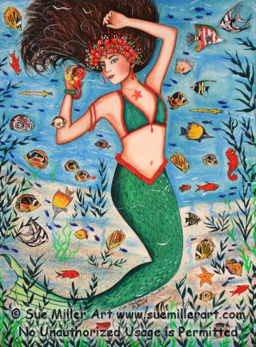 Sea Goddess Print