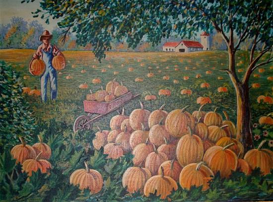 Pumpkin Landscape