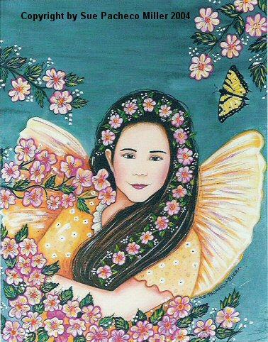 Fairy Garden Original Painting