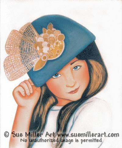 Happy Hattitude Original Painting