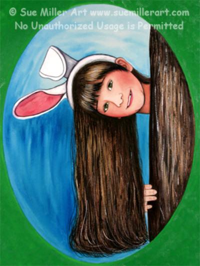 Jenifer Bunny Print