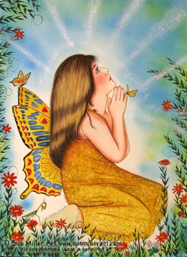 The Good Luck Fairy Print