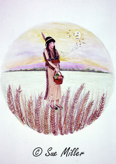 Heather Indian Print
