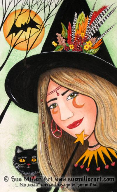 Wonder Witch Print