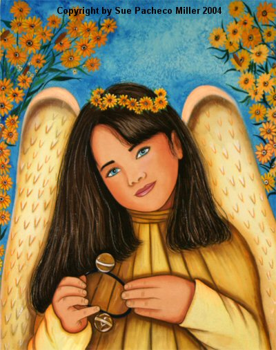 The Bell Angel Print
