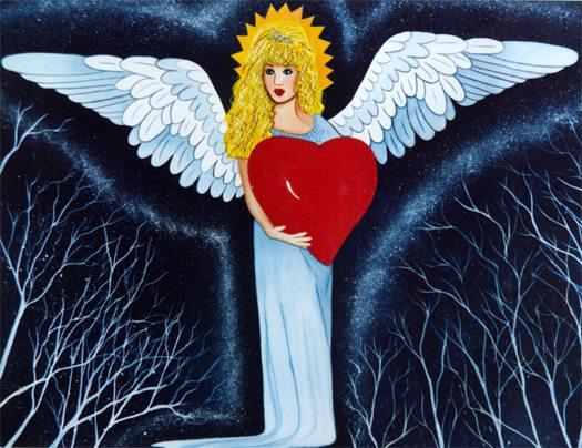 An Angels Heart Print