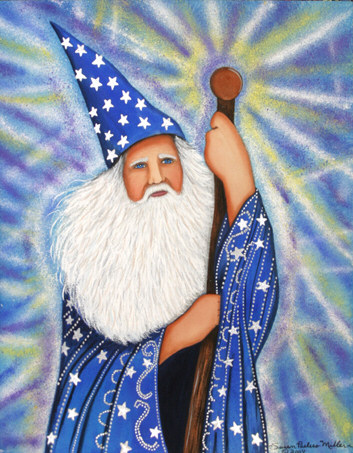 The Wizard Print