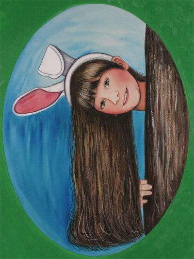Jennifer Bunny Print